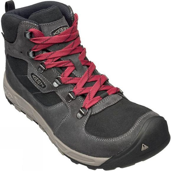 Keen Mens Westward Mid WP Boot Gargoyle / Black
