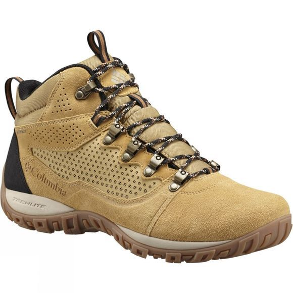 Columbia Mens Peakfreak Venture Mid Suede WP Boot Curry / Ancient Fossil