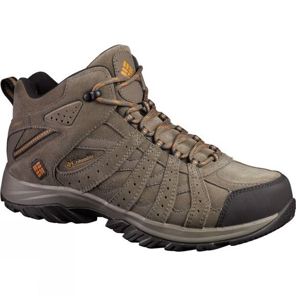 Columbia Mens Canyon Point Mid Omni-Tech Boot Mud/ Bright Copper