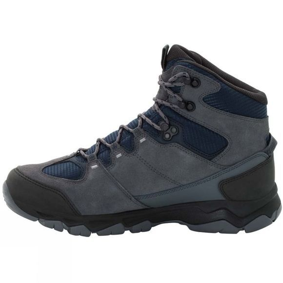 Jack Wolfskin Mens Attack 6 Texapore Mid Boot Night Blue