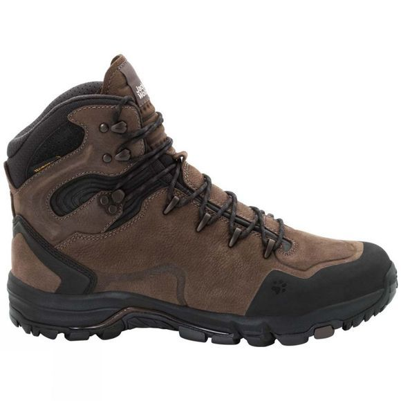 Jack Wolfskin Mens Altiplano Prime Texapore Mid Boot Mocca