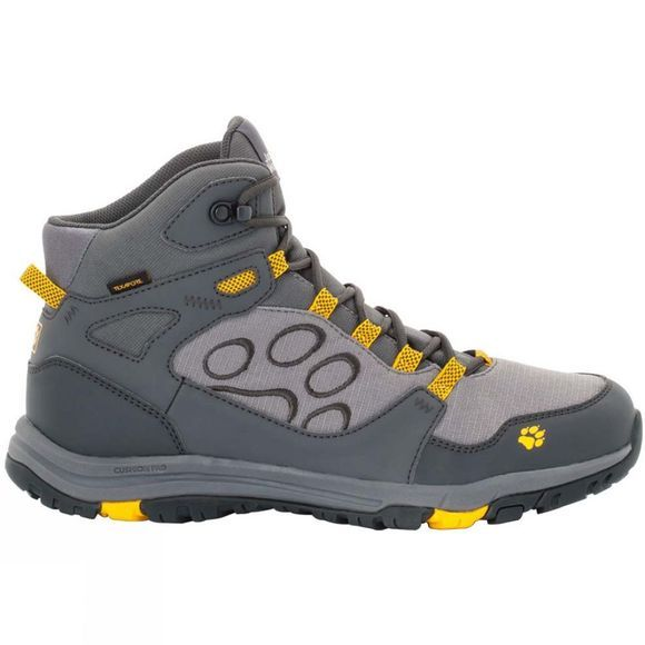 Jack Wolfskin Mens Activate Texapore Mid Boot Burly Yellow Xt