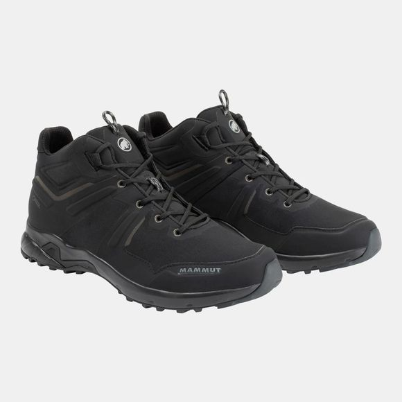 Mammut Mens Ultimate Pro Mid GTX Shoe Black/Black