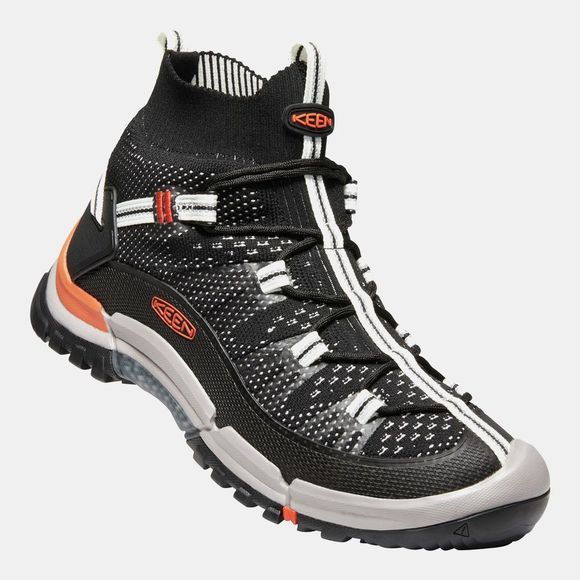 Keen Mens Axis Evo Mid Boot Black/Flame