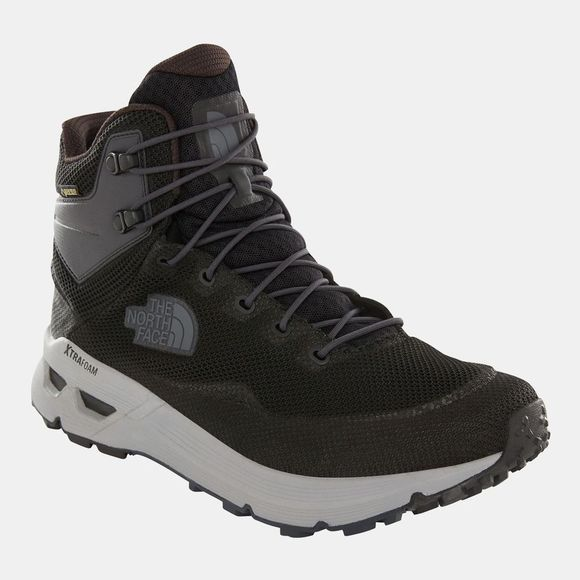 The North Face Mens Safien Mid Gore-Tex Hiking Boots Tnf Black/Ebony Grey