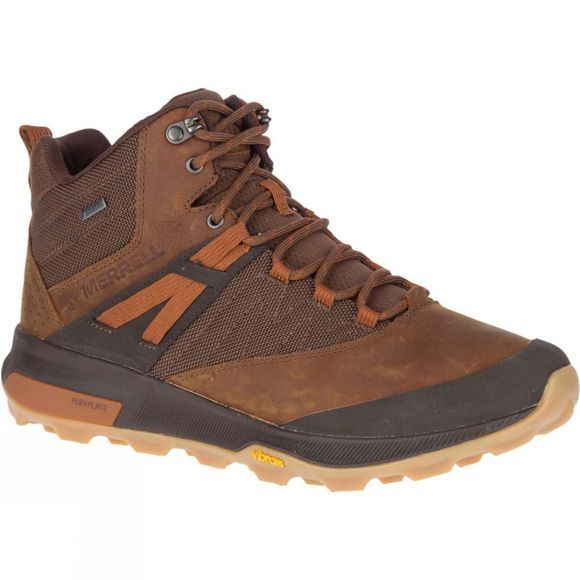 Merrell Mens Zion Mid GTX Toffee