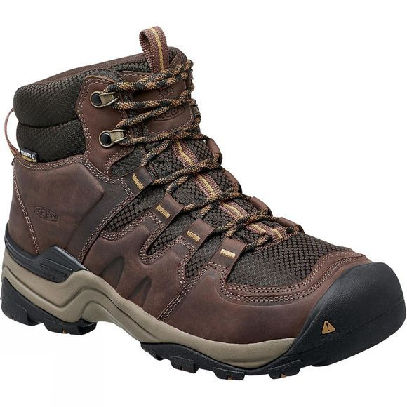 Keen Mens Gypsum II Waterproof Boot Coffee Bean / Bronze Mist
