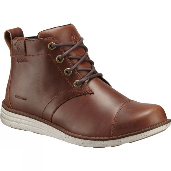 Columbia Mens Irvington LTR Chukka WP Boot Cinnamon / Maple