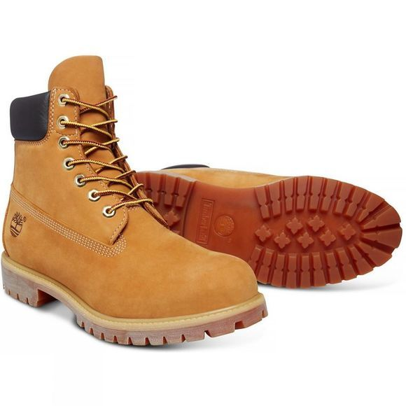 "Timberland Mens Icon 6"" Boots Wheat Nubuck"