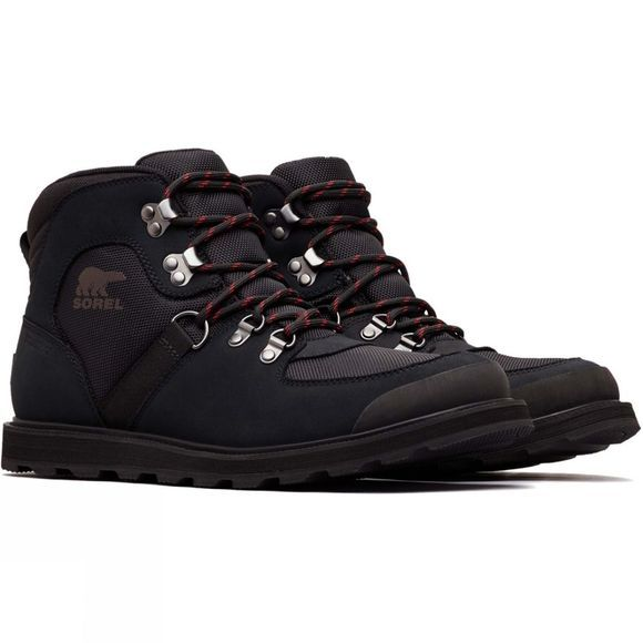 Sorel Mens Madson Sport Hiker Boot Black