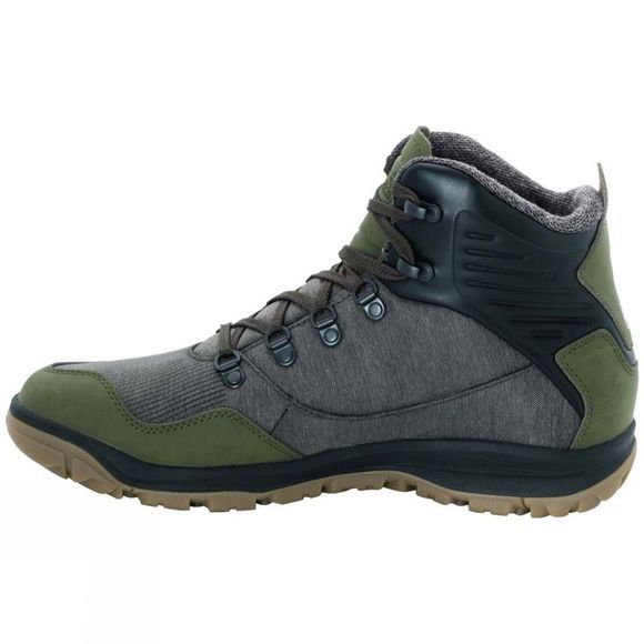 Jack Wolfskin Mens Seven Wonders Texapore Mid Boot Pinewood