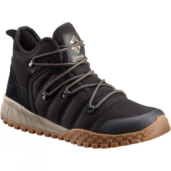 Columbia Mens Fairbanks 503 Boot Black/ Mud