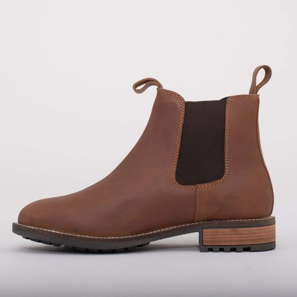 Brakeburn Mens Leather Chelsea Boot Brown