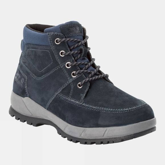Jack Wolfskin Mens Jackson Mid Boot Blue / Grey