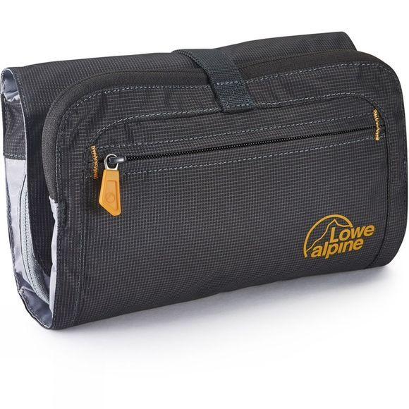 Lowe Alpine Roll-Up Wash Bag Anthracite/Amber