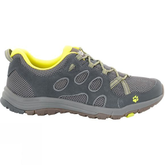 Jack Wolfskin Mens Rocksand Chill Low Shoe Flashing Green