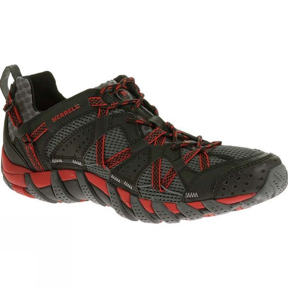 Merrell Mens WaterPro Maipo Shoe Black / Red