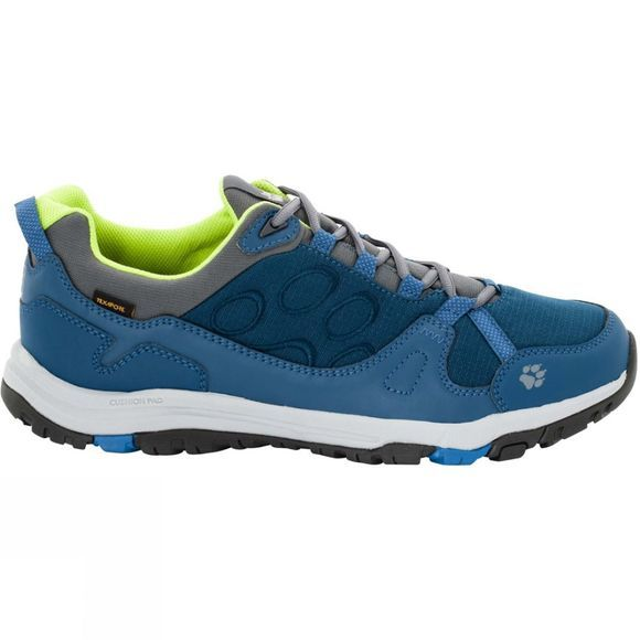 Jack Wolfskin Mens Activate Texapore Low Shoe Poseidon Blue