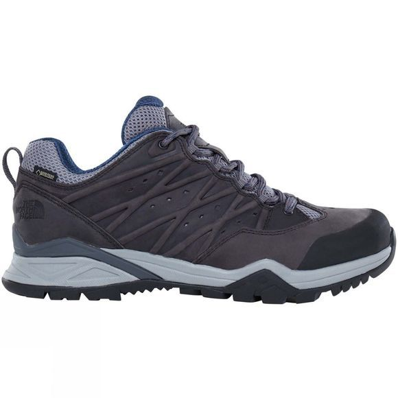 The North Face Mens Hedgehog Hike II GTX Shoe Zinc Grey/Shady Blue