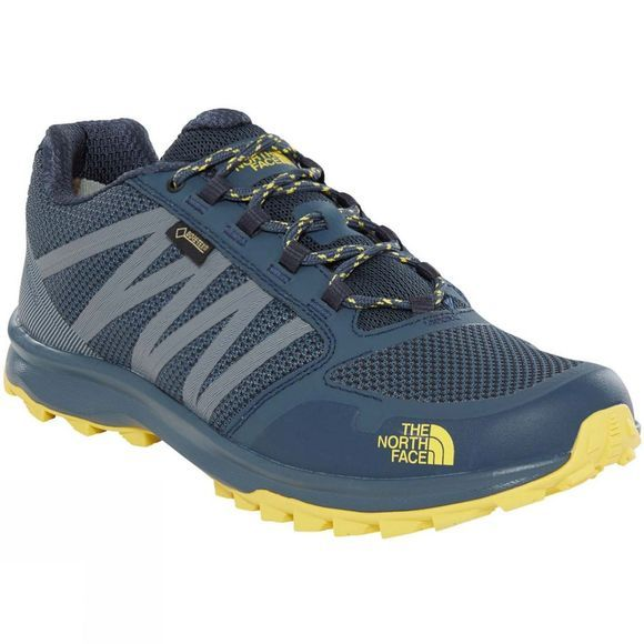 The North Face Men's Litewave Fastpack GTX® Shoes Ink Blue/Acid Yellow