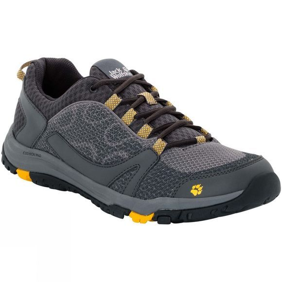 Jack Wolfskin Mens Activate Low Burly Yellow Xt
