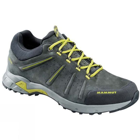 Mammut Mens Convey Low GTX Shoe Graphite/Dark Citron