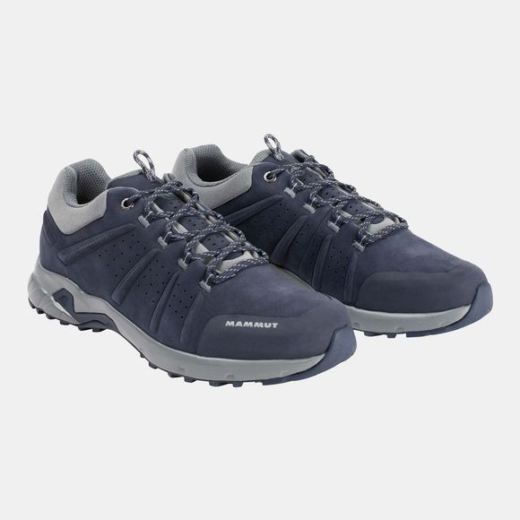 Mammut Mens Convey Low GTX Shoe Marine/Grey