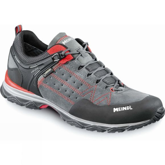 Meindl Mens Ontario Gtx Shoes Red/Anthracite