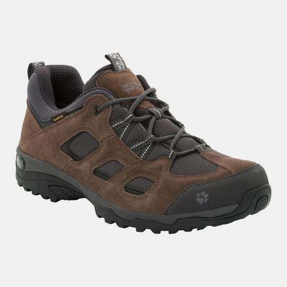 Jack Wolfskin Mens Vojo Hike 2 Texapore Low Dark Wood