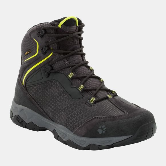 Jack Wolfskin Mens Rock Hunter Texapore Mid Lime Green