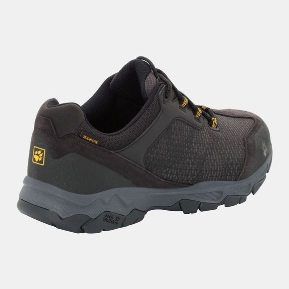Jack Wolfskin Mens Rock Hunter Texapore Low Burly Yellow Xt