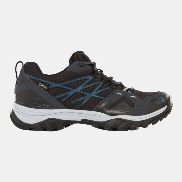 The North Face Mens Hedgehog Fastpack GTX Shoe Ebony Grey/Shady Blue
