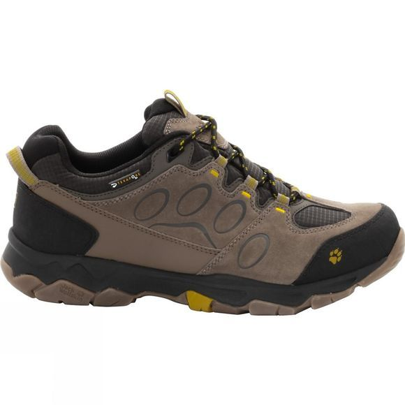 Jack Wolfskin Mens MTN Attack 5 Texapore Low Shoe Mustard Seed