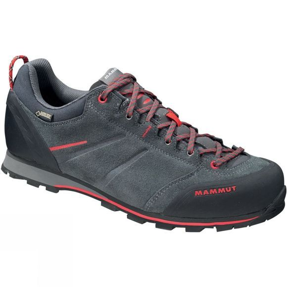 Mammut Mens Wall Guide Low GTX Shoe Graphite/Inferno