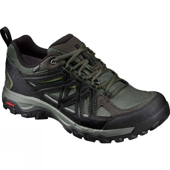 Salomon Mens Evasion II GTX Shoe Castor Gray/Black/Chive