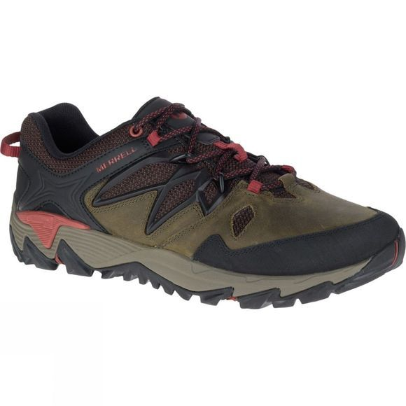 Merrell Mens All Out Blaze 2 Shoe Dark Olive