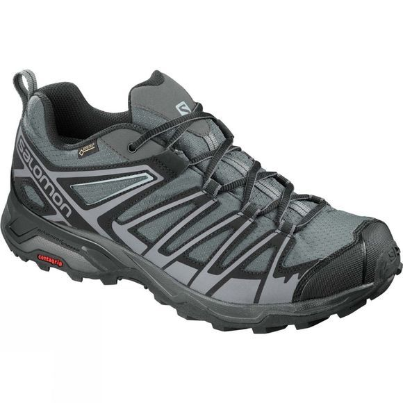 Salomon Mens X Ultra 3 Prime Gtx Shoe Magnet/Black/Quiet Shade