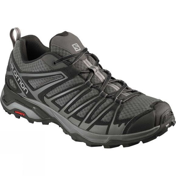 Salomon Mens X Ultra 3 Prime Shoe Magnet/Black/Monument