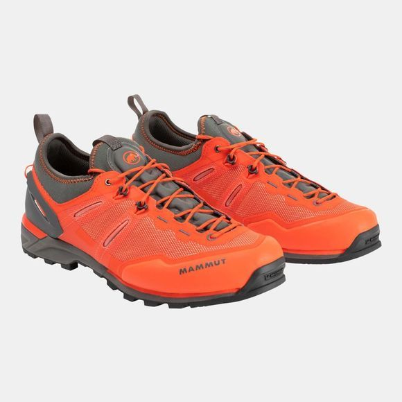 Mammut Mens Alnasca Knit Low Dark Orange/Graphite