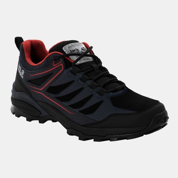 Jack Wolfskin Cruiser Low Shoe Black / Red
