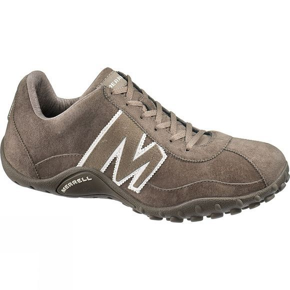 Merrell Mens Sprint Blast Leather Shoe Gunsmoke/White