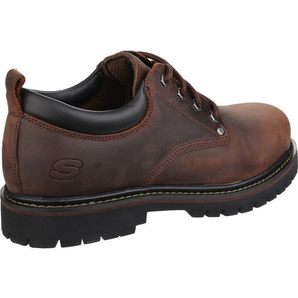 Skechers Mens Tom Cats Shoe Dark Brown