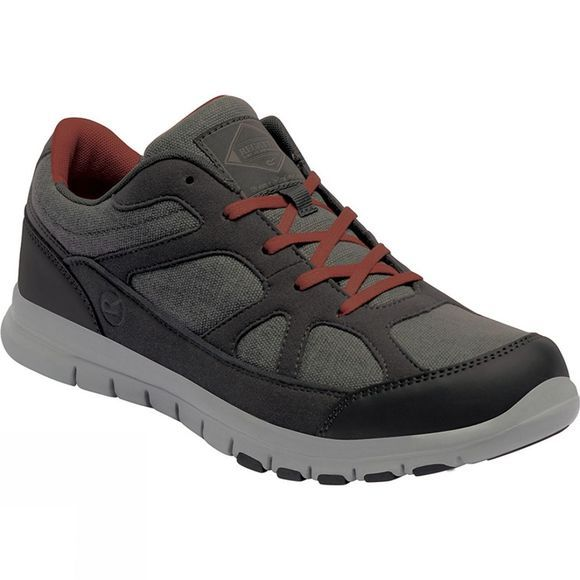 Regatta Mens Varane Sport Shoe Granite / Orange Umber