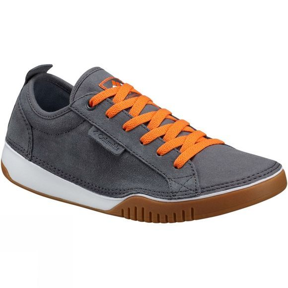 Columbia Mens Bridgeport Lace Shoe Graphite/Heatwave