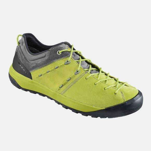 Mammut Mens Hueco Low GTX Shoe Dark Citron/Grey