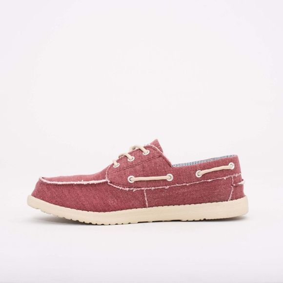 Brakeburn Men's Boat Shoe Burgundy