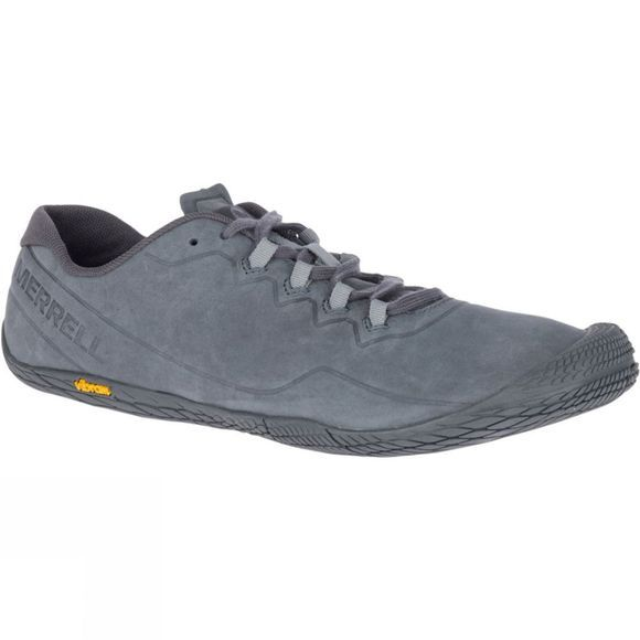 Merrell Mens Vapor Glove 3 Luna Leather Shoe Granite