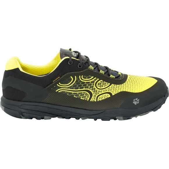 Jack Wolfskin Mens Crosstrail Texapore Low Shoe Flashing Green