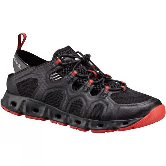 Columbia Mens Supervent III Hybrid Shoe Black/Poppy Red