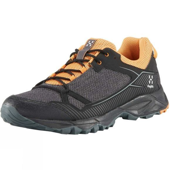 Haglofs Mens Trail Fuse Shoe True Black / Desert Yellow